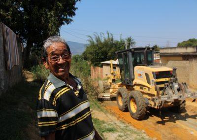 Prefeitura inicia obras de drenagem e pavimentação no Morro da Moenda