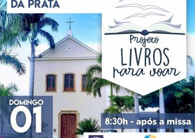 "Igreja Santo Antônio da Prata recebe Projeto ""Livros para voar"""