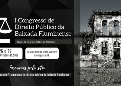 Nova Iguaçu vai promover I Congresso de Direito Público da Baixada Fluminense