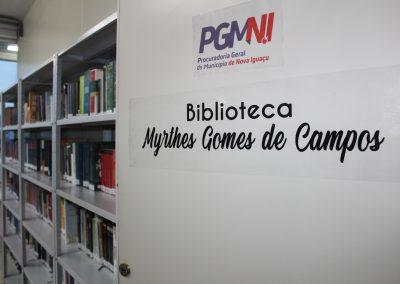 Sede da PGM é reinaugurada e ganha biblioteca