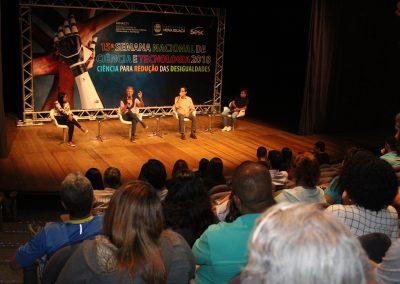 Palestras marcam terceiro dia da 15ª Semana Nacional de Ciência e Tecnologia em Nova Iguaçu