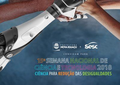 Semana Nacional de Ciência e Tecnologia em Nova Iguaçu terá muito conhecimento e inovação