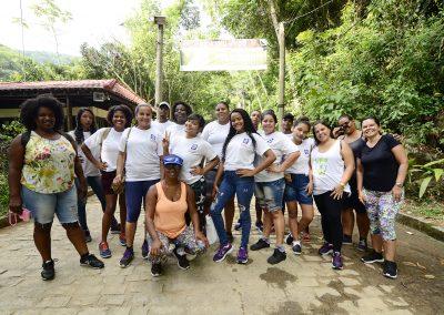 Alunos do Projovem visitam Parque do Vulcão