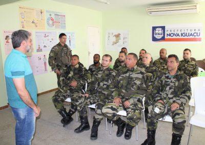 Guardas ambientais recebem capacitação sobre história de Nova Iguaçu
