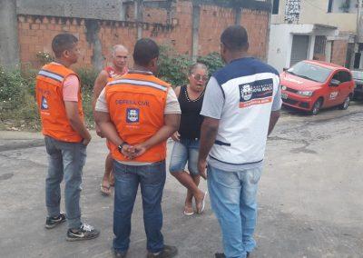 Prefeitura presta apoio a moradores afetados por rompimento de tubulação da Cedae
