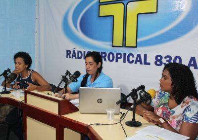Serviços da Secretaria de Assistência Social ao vivo na rádio