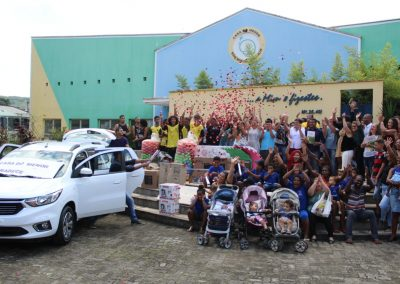 Prefeitura leva doações à Casa do Menor São Miguel Arcanjo