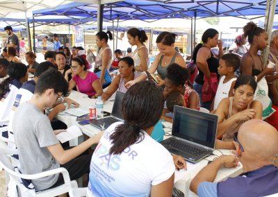 """""""Prefeitura Presente"""" oferece exames rápidos de saúde em Jardim Palmares"""