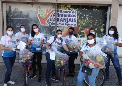 Prefeitura de Nova Iguaçu entrega cestas de alimentos para famílias acompanhadas pelos programas PIPAS e Mamãe Presente