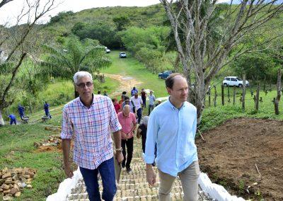 Cônsul Geral da Espanha e arquiteto consultor da Unesco visitam patrimônios culturais de Nova Iguaçu
