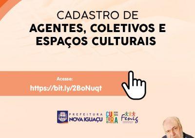 Prefeitura de Nova Iguaçu inicia cadastramento para o recebimento do auxílio emergencial da Cultura