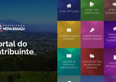 Prefeitura de Nova Iguaçu lança novo Portal do Contribuinte