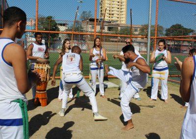 Vila Olímpica de Nova Iguaçu oferece aulas de capoeira