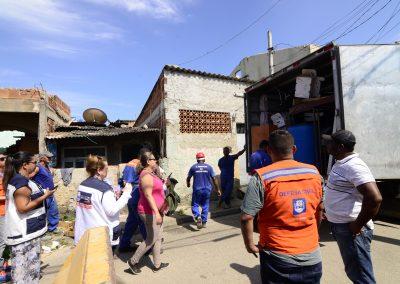 Famílias deixam margens do Botas e se mudam para Residencial Santo Antônio