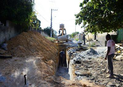 Ruas da Cerâmica recebem obras de infraestrutura