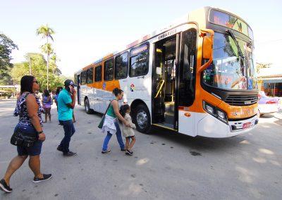 Tinguá é a primeira região a ter 100% dos ônibus climatizados em Nova Iguaçu