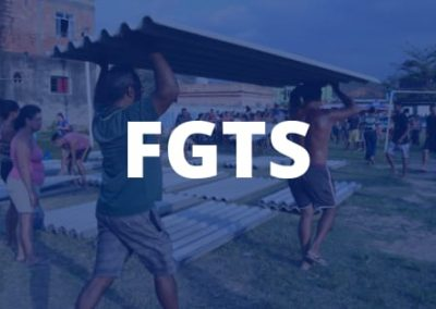 FGTS será liberado para os moradores dos bairros mais atingidos pela chuva de granizo