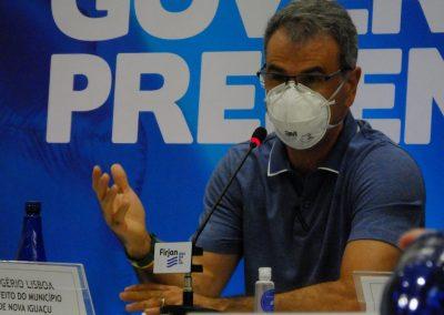 Rogerio Lisboa pede colaboração pela saúde e desenvolvimento econômico da Baixada Fluminense em encontro do governador com prefeitos