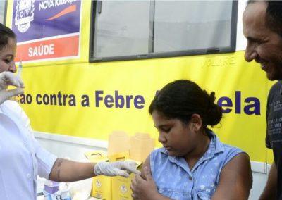 Nova Iguaçu promove mutirão de vacinação contra febre amarela e HPV