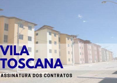 Prefeitura convoca beneficiários do Villa Toscana