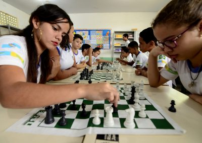 Projeto piloto leva o jogo de xadrez até as escolas municipais de Nova Iguaçu