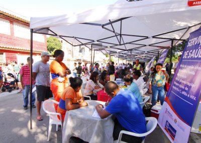 'Prefeitura Presente' chega ao Riachão com serviços gratuitos de saúde e assistência social