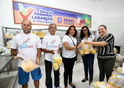 Banco de Alimentos fecha parceria com a CEASA