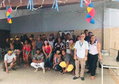 Centro POP promove festa de carnaval e debate questões sociais