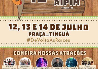 Festa do Aipim volta à Tinguá nesta sexta (12)
