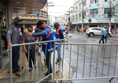 Prefeitura de Nova Iguaçu prorroga limitação de acesso ao Calçadão de Nova Iguaçu até o dia 3 de junho