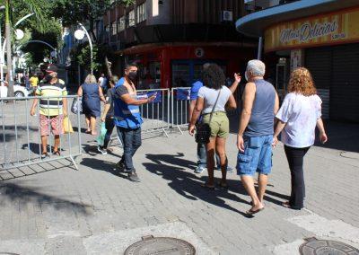 Prefeitura de Nova Iguaçu inicia ação para restringir acesso ao Calçadão