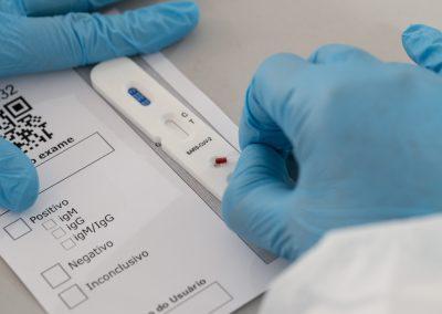 Prefeitura de Nova Iguaçu inicia testes rápidos para Covid-19 em população cadastrada por aplicativo Dados do Bem