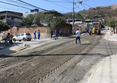 Obras de infraestrutura em Jardim Alvorada e Palhada seguem em ritmo acelerado