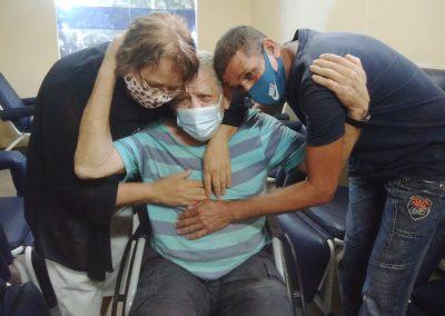 Serviço Social do HGNI ajuda paciente a reencontrar a família após quase 20 anos