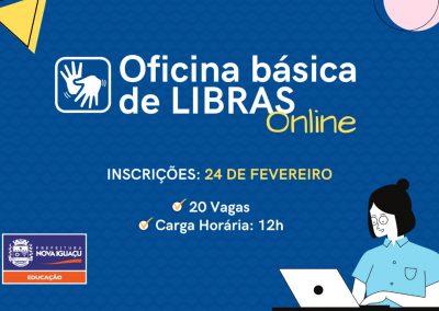 Nova Iguaçu terá Oficina de Libras para Profissionais da Educação