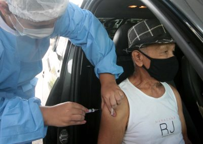Nova Iguaçu vai vacinar pessoas de 66 a 68 anos e profissionais de saúde de 32 a 34 anos na próxima semana