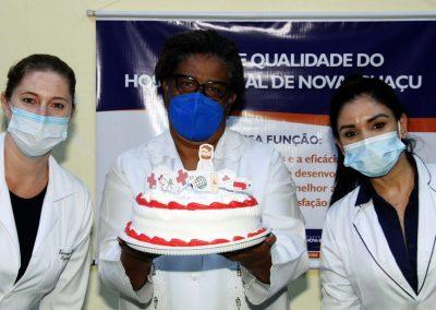 Hospital Geral de Nova Iguaçu faz homenagem aos profissionais da enfermagem