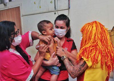 Nova Iguaçu imuniza 1.778 crianças e adolescentes no Dia D de multivacinação