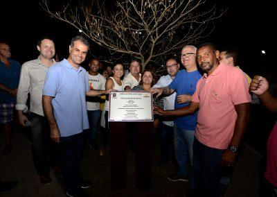 Prefeitura de Nova Iguaçu entrega praça aos moradores do Bairro Botafogo