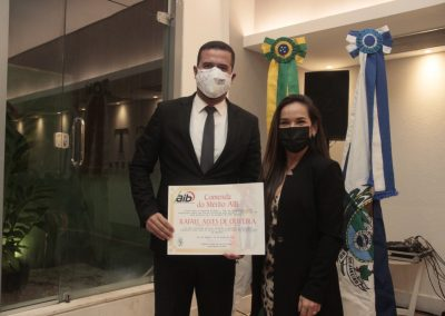 Procurador-geral de Nova Iguaçu é homenageado por defesa à liberdade de imprensa