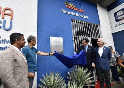Casa da Inovação de Nova Iguaçu recebe o nome de Ricardo Boechat