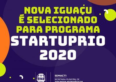 Nova Iguaçu é selecionado para Programa StartupRio 2020