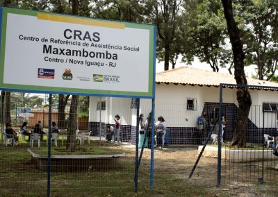 CRAS Maxambomba ganha sede própria na Praça Santos Dumont