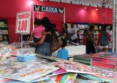 Feira Literária de Nova Iguaçu oferece livros a partir de R$ 1