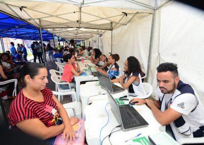 """Largo dos Peixes recebe """"Prefeitura Presente"""""""