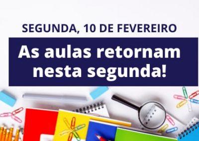 Aulas em 80 escolas de Nova Iguaçu são retomadas nesta segunda-feira(10)