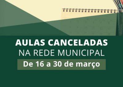 Como prevenção à pandemia de coronavírus, Nova Iguaçu suspende aulas nas escolas municipais a partir de segunda-feira