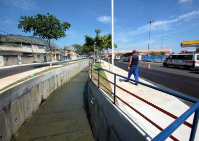 Obras em rio de Santa Eugênia estão em fase final de conclusão