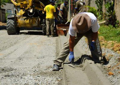 Obras de infraestrutura no Gerard Danon estão a todo vapor
