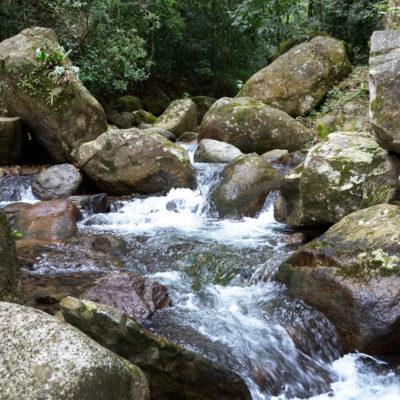 Cachoeira em Tinguá